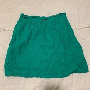 J.Crew Linen Stretch Waist Skirt